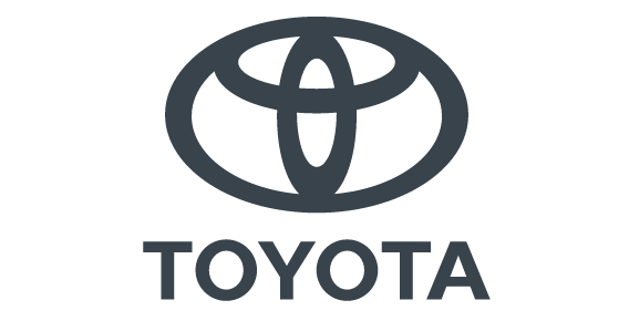 Toyota logo - used in the section listing the customers of KINTO Join sustainable commuting solution